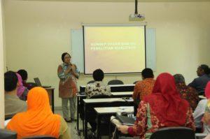 03-04 Agustus 2015 - Pelatihan Metodologi Kualitatif